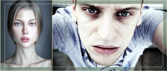 Анемичные молодые люди