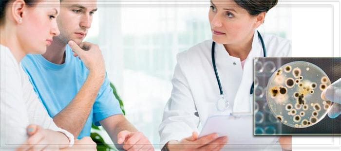 Пара на приема врача